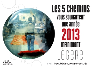 carte voeux 5 chemins 2013
